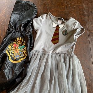 Harry Potter dress with cape